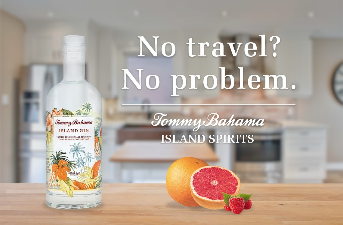 Take A Vacation At Home with Tommy Bahama Island Gin
